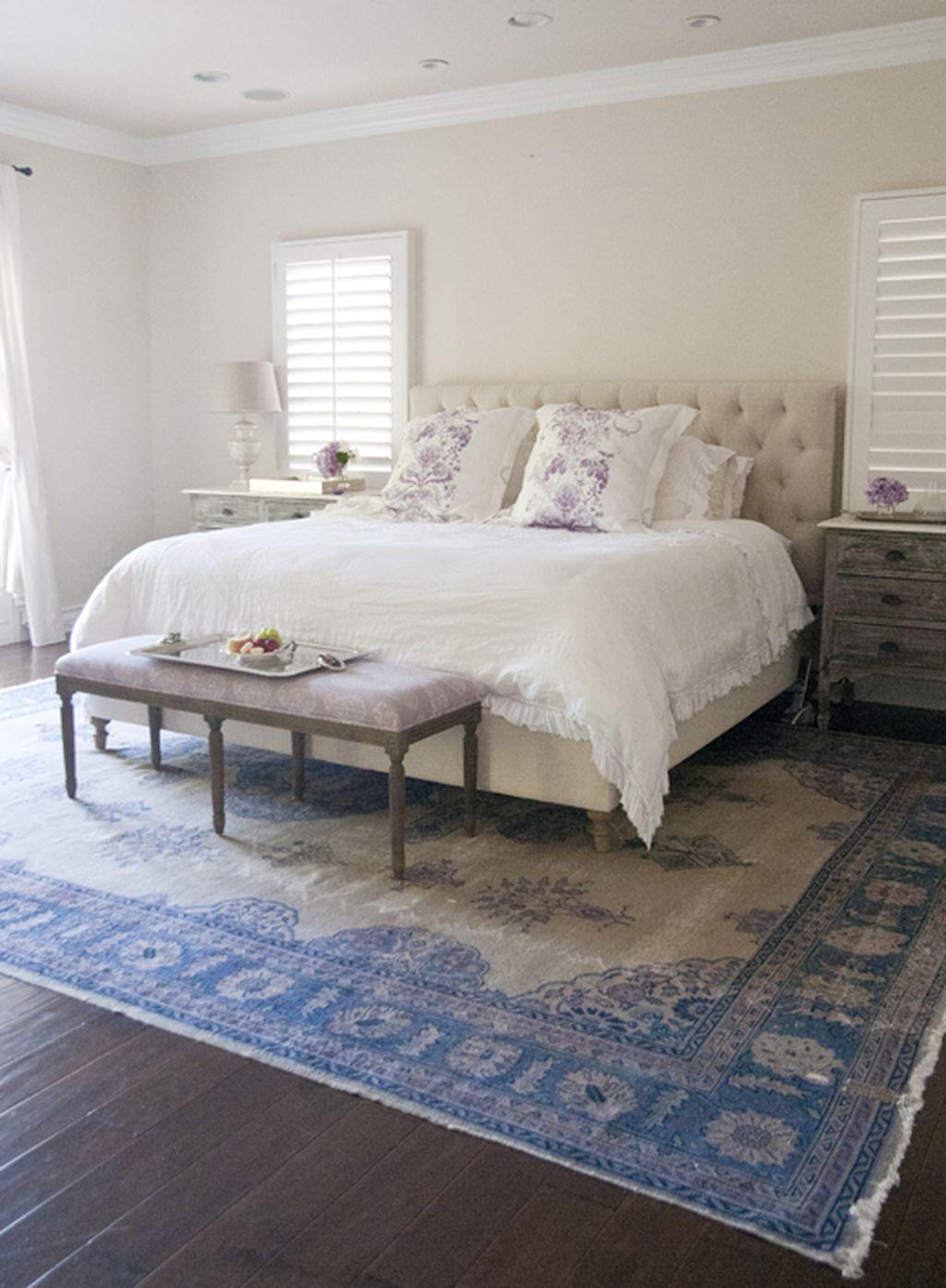 Gorgeous Vintage Master Bedroom Decoration Ideas 56