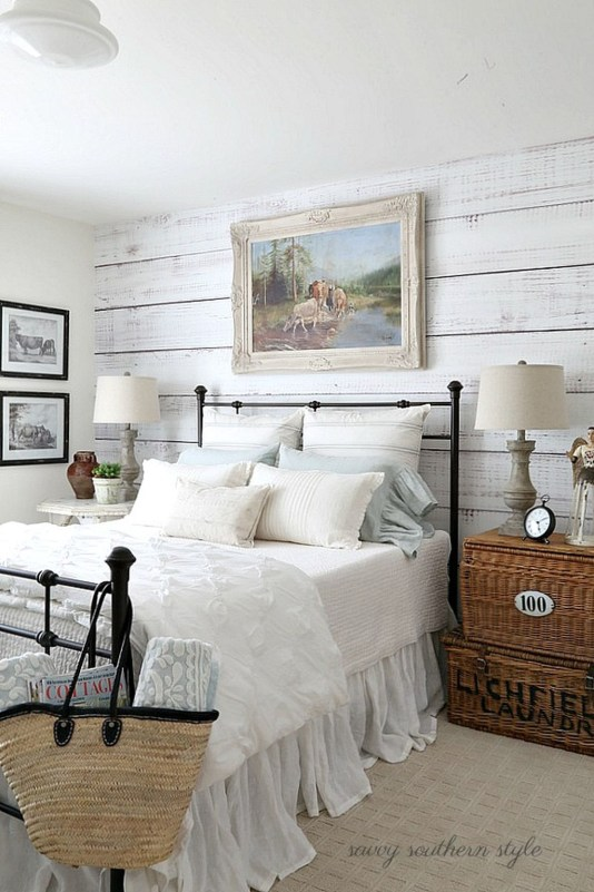 Gorgeous Vintage Master Bedroom Decoration Ideas 90