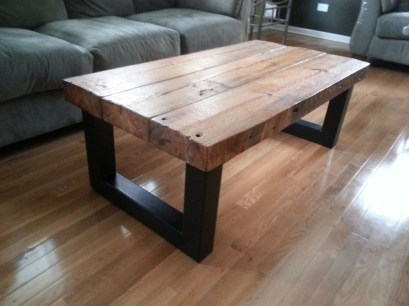Incredible Industrial Farmhouse Coffee Table Ideas 03