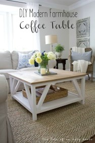 Incredible Industrial Farmhouse Coffee Table Ideas 09
