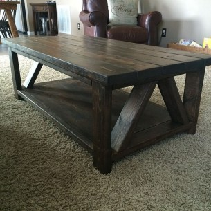 Incredible Industrial Farmhouse Coffee Table Ideas 21