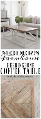 Incredible Industrial Farmhouse Coffee Table Ideas 27