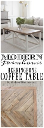 Incredible Industrial Farmhouse Coffee Table Ideas 27