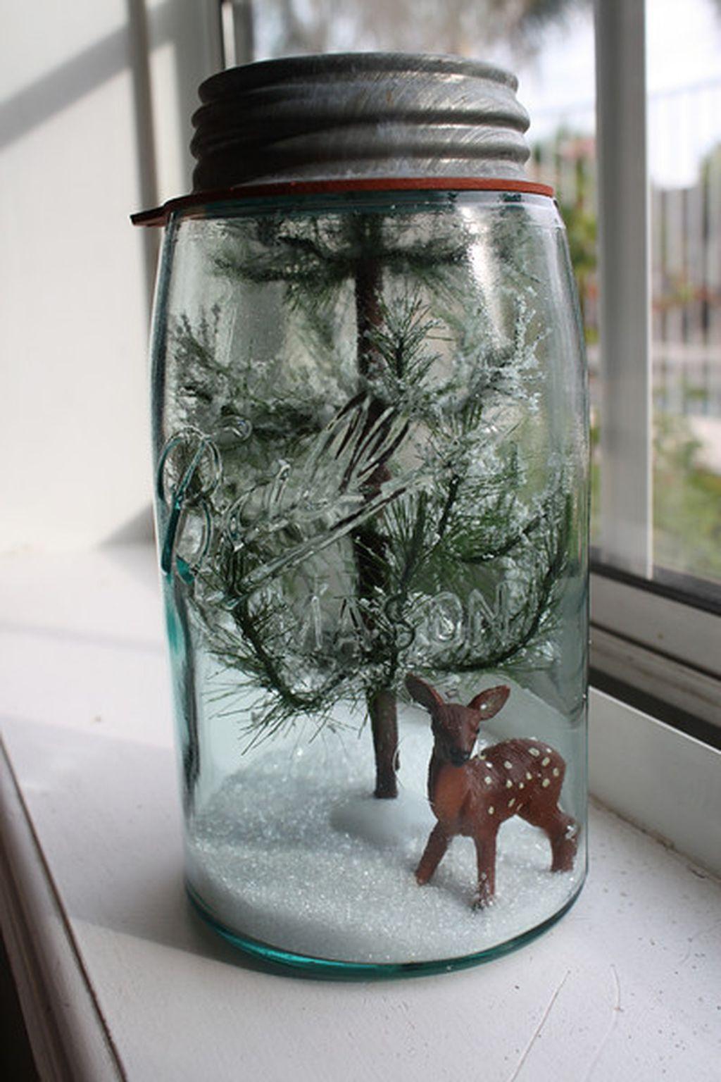 Incredible Rustic Farmhouse Christmas Decoration Ideas 40