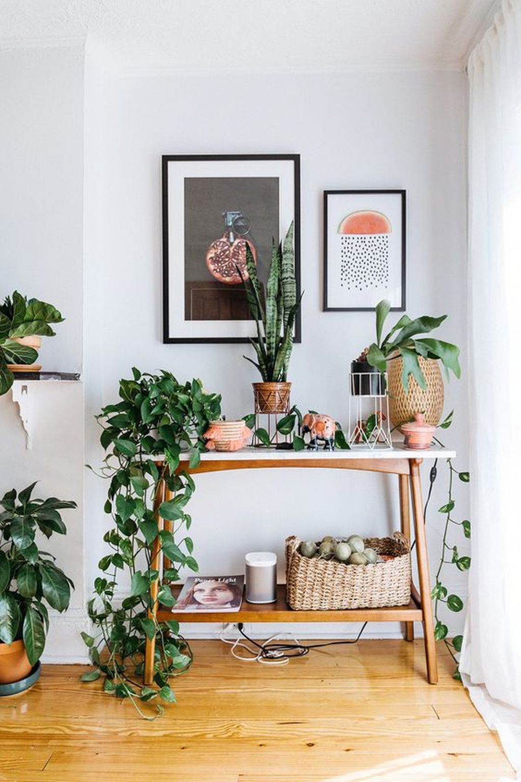 Inspiring Indoor Plans Garden Ideas To Makes Your Home More Cozier 58