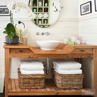 Inspiring Rustic Bathroom Vanity Remodel Ideas 05