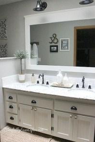 Inspiring Rustic Bathroom Vanity Remodel Ideas 10