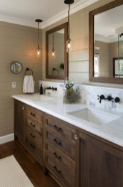 Inspiring Rustic Bathroom Vanity Remodel Ideas 31