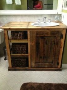Inspiring Rustic Bathroom Vanity Remodel Ideas 37