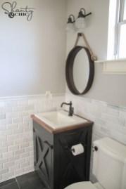Inspiring Rustic Bathroom Vanity Remodel Ideas 39