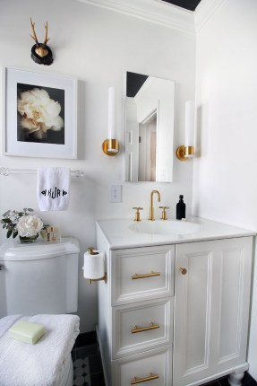Inspiring Rustic Bathroom Vanity Remodel Ideas 59