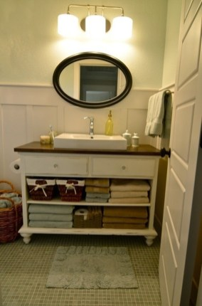 Inspiring Rustic Bathroom Vanity Remodel Ideas 61