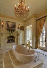 Romantic And Elegant Bathroom Design Ideas With Chandeliers 34