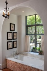 Romantic And Elegant Bathroom Design Ideas With Chandeliers 70