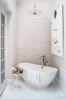 Romantic And Elegant Bathroom Design Ideas With Chandeliers 94