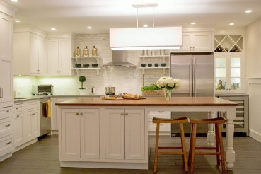 Totally Outstanding Traditional Kitchen Decoration Ideas 116