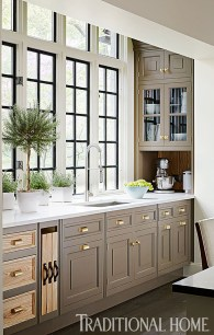 Totally Outstanding Traditional Kitchen Decoration Ideas 158