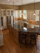 Totally Outstanding Traditional Kitchen Decoration Ideas 36