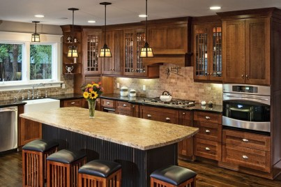 Totally Outstanding Traditional Kitchen Decoration Ideas 49