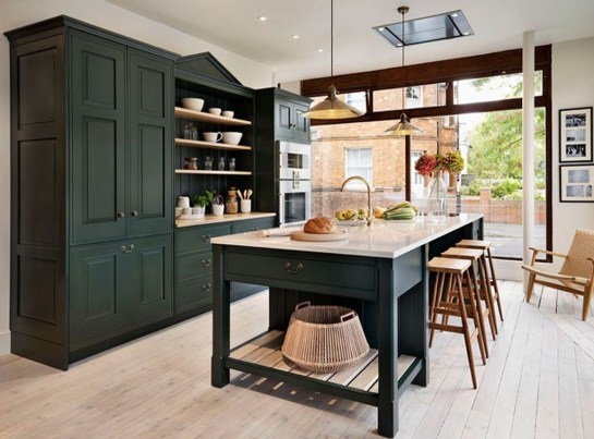 Totally Outstanding Traditional Kitchen Decoration Ideas 91
