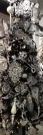 Unique And Unusual Black Christmas Tree Decoration Ideas 10