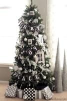 Unique And Unusual Black Christmas Tree Decoration Ideas 21