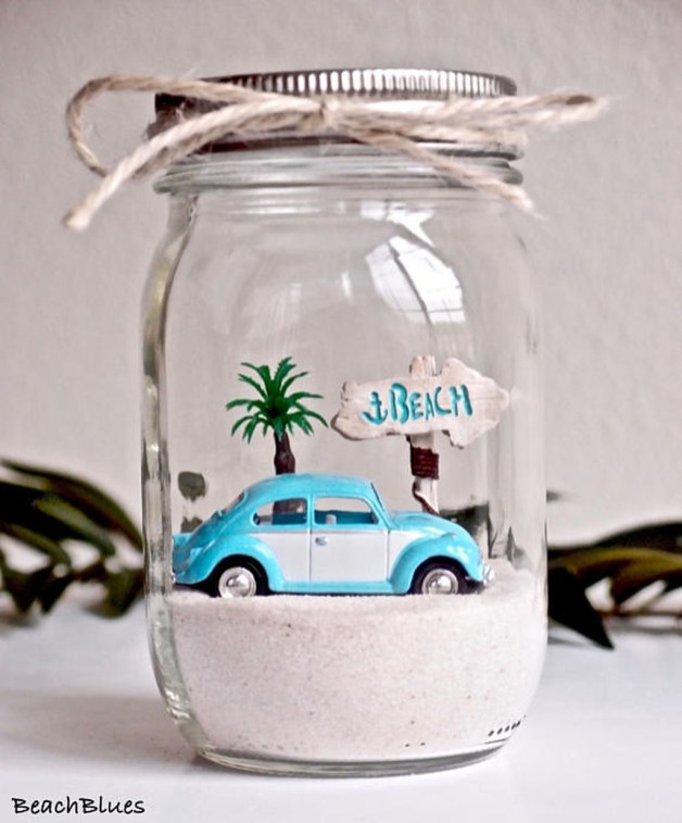 37 Relaxed Beach Themed Christmas Decoration Ideas 37