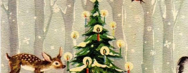 37 Totally Beautiful Vintage Christmas Tree Decoration Ideas 20