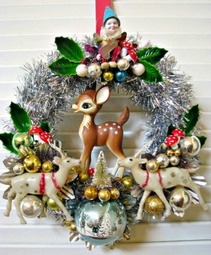 37 Totally Beautiful Vintage Christmas Tree Decoration Ideas 28