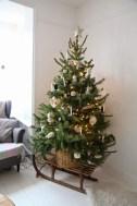 37 Totally Beautiful Vintage Christmas Tree Decoration Ideas 36