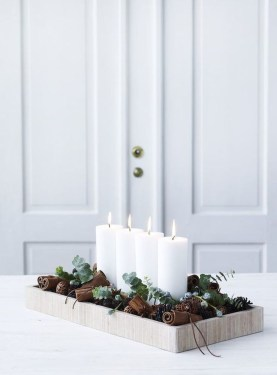 40 Awesome Scandinavian Christmas Decoration Ideas 06
