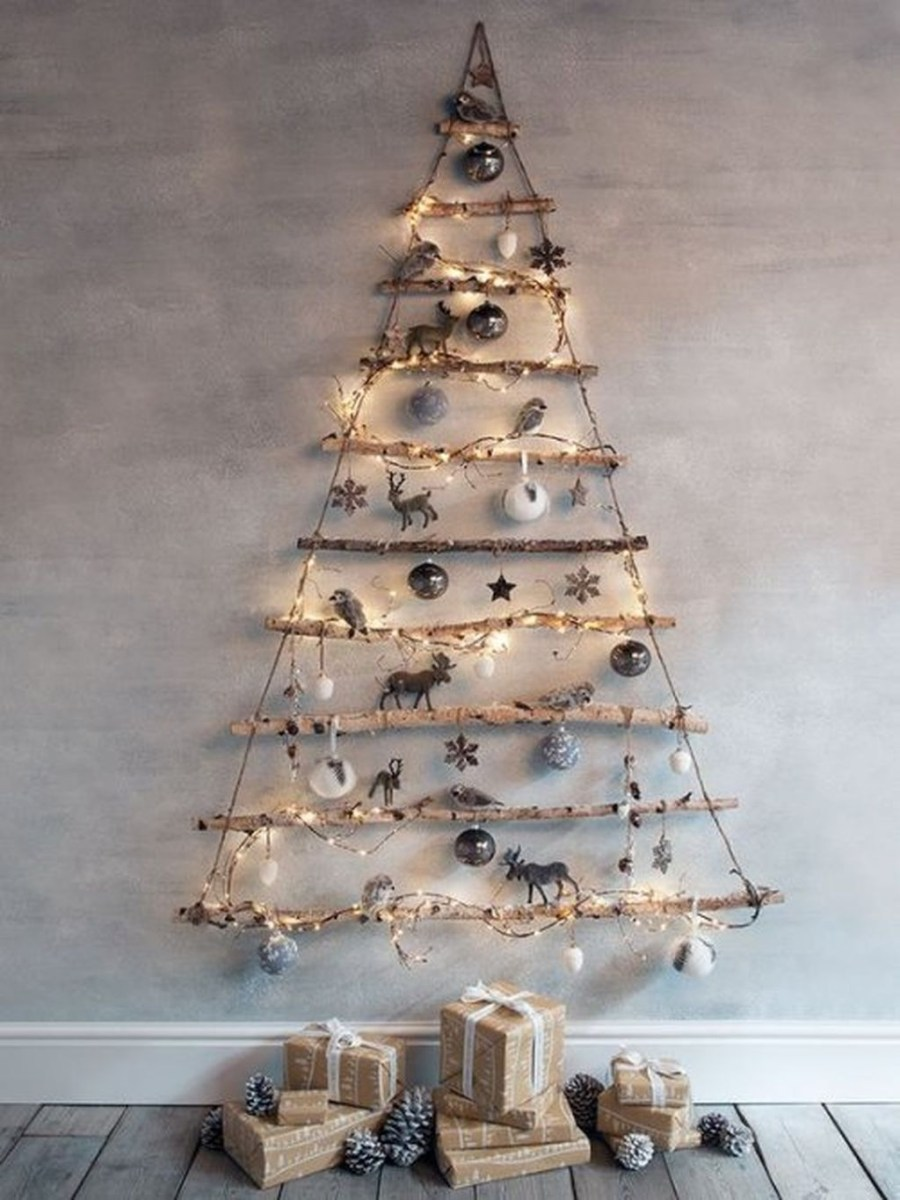 40 Awesome Scandinavian Christmas Decoration Ideas 08