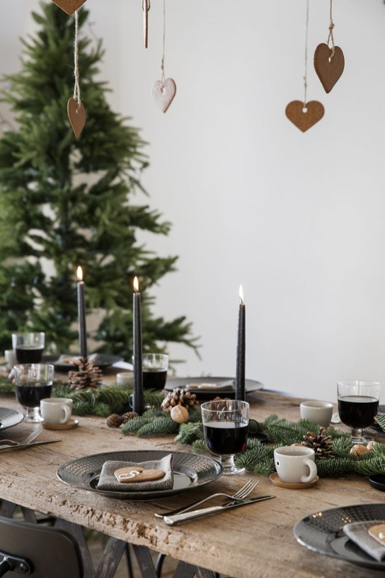 40 Awesome Scandinavian Christmas Decoration Ideas 39
