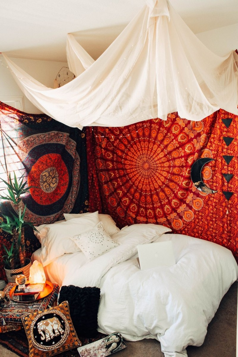 40 Unique Bohemian Bedroom Decoration Ideas 05