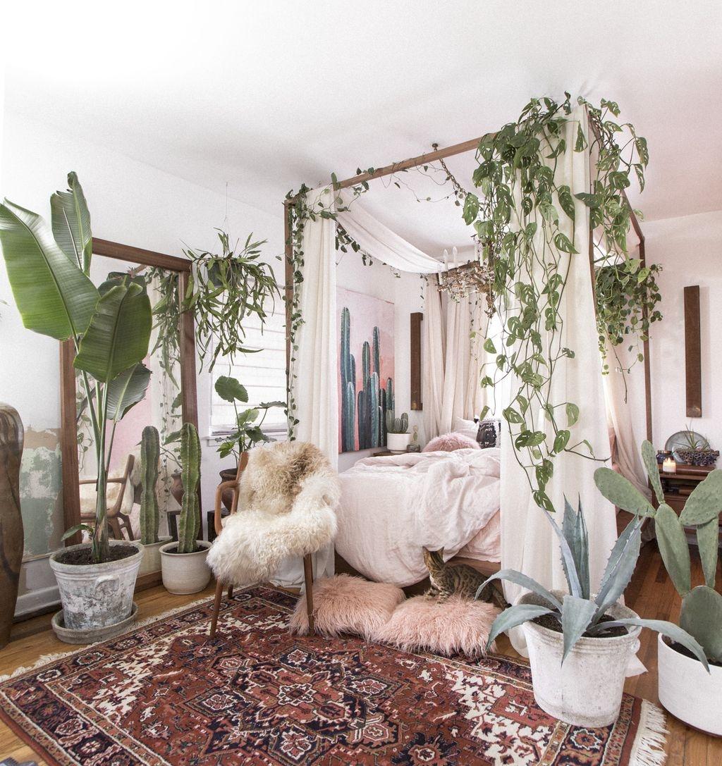 40 Unique Bohemian Bedroom Decoration Ideas 19