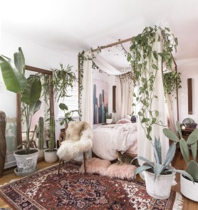 40 Unique Bohemian Bedroom Decoration Ideas 19