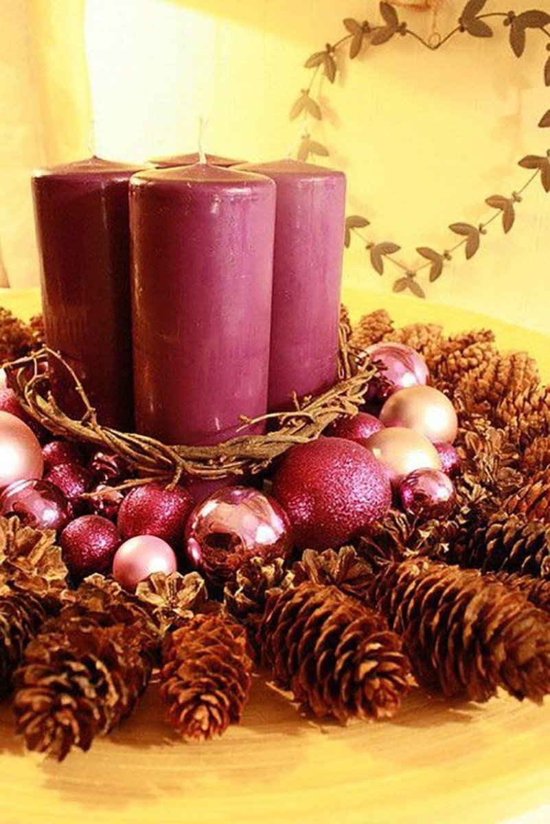 Cheap And Easy Christmas Centerpieces Ideas 45