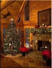 Cozy Christmas House Decoration 38  HomeDecorish
