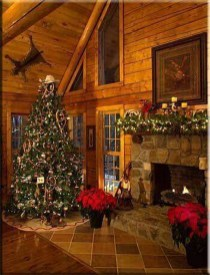 Cozy Christmas House Decoration 38