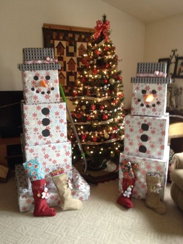 Cute And Cool Snowman Christmas Decoration Ideas 01