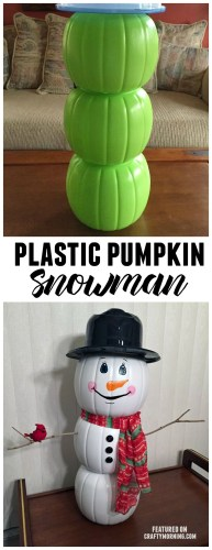 Cute And Cool Snowman Christmas Decoration Ideas 02