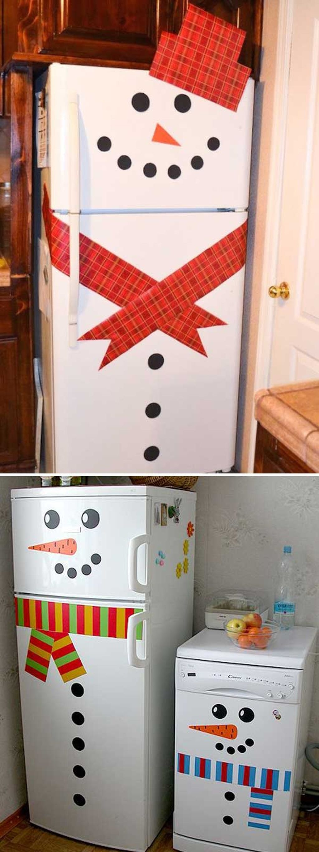 Cute And Cool Snowman Christmas Decoration Ideas 14