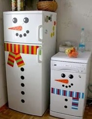 Cute And Cool Snowman Christmas Decoration Ideas 16