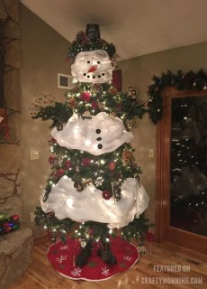 Cute And Cool Snowman Christmas Decoration Ideas 28