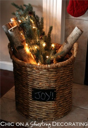 Elegant Rustic Christmas Decoration Ideas That Stands Out 08
