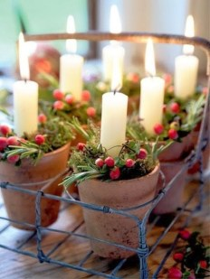 Elegant Rustic Christmas Decoration Ideas That Stands Out 28