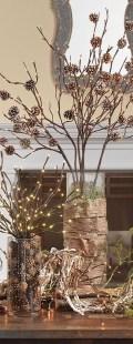 Elegant Rustic Christmas Decoration Ideas That Stands Out 31