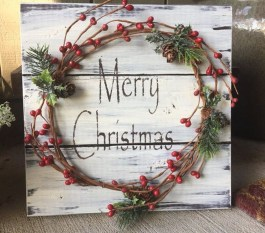 Elegant Rustic Christmas Wreaths Decoration Ideas To Celebrate Your Holiday 13
