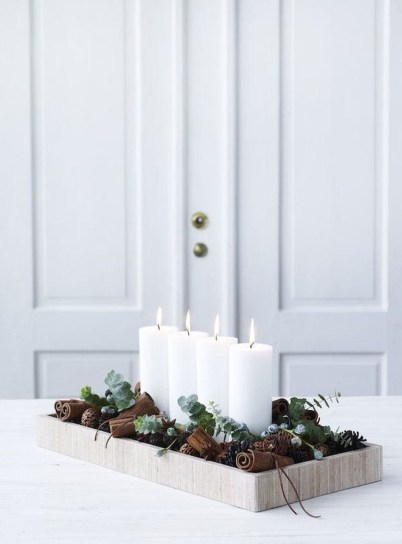 Inspiring Christmas Decoration Ideas For Your Apartment 51
