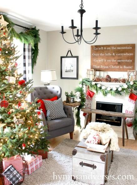 Inspiring Chritsmas Livingroom Ideas 05